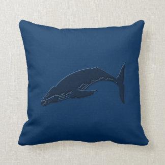 Ahorre las ballenas #8 cojin