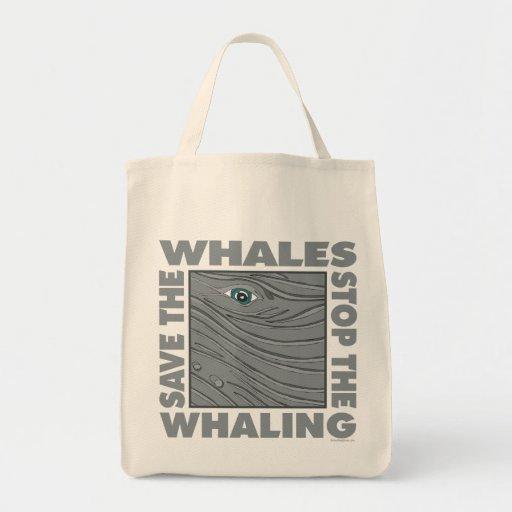 Ahorre las ballenas bolsa
