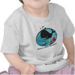 Ahorre las ballenas camiseta