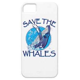 Ahorre las ballenas iPhone 5 Case-Mate cárcasa