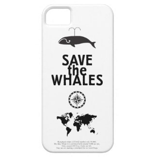 Ahorre las ballenas iPhone 5 Case-Mate carcasas