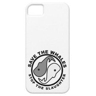 Ahorre las ballenas - los derechos de los animales iPhone 5 cárcasas