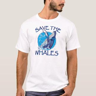 Ahorre las ballenas playera