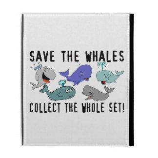 Ahorre las ballenas recogen el sistema del conjunt