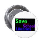 Ahorre las bibliotecas escolares de California - W Pin