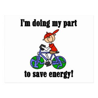 Ahorre las camisetas y los regalos ambientales de tarjeta postal