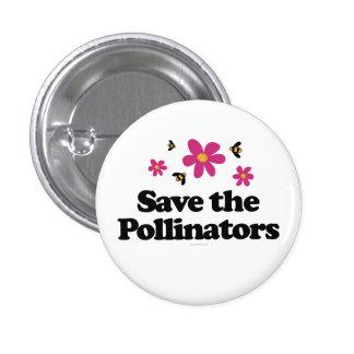 Ahorre las donadoras de polen pin redondo de 1 pulgada