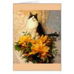 Ahorre las flores del boda de la fecha/de la caída felicitaciones
