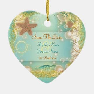Ahorre las invitaciones del ornamento de la fecha ornato