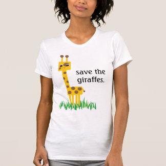 ahorre las jirafas tshirt