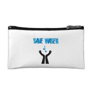 Ahorre las manos del agua que ahorran el agua