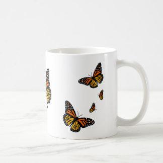 ¡Ahorre las mariposas de monarca - flores de la Taza Clásica