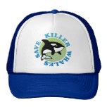 Ahorre las orcas gorras