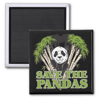 Ahorre las pandas iman