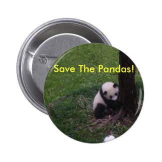 ¡Ahorre las pandas! Pins