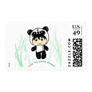 ¿Ahorre las pandas satisfacen? Sellos