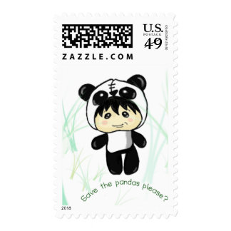 ¿Ahorre las pandas satisfacen? Franqueo