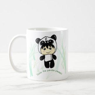 ¿Ahorre las pandas satisfacen? Taza De Café