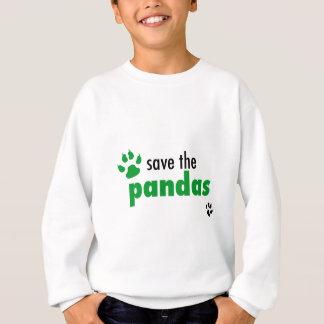 Ahorre las pandas sudadera