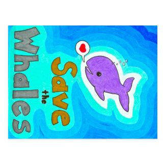 Ahorre las postales de las ballenas