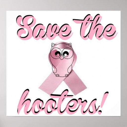 Ahorre las sirenas, conciencia del cáncer de pecho póster