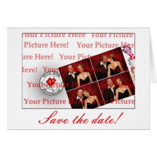 ¡Ahorre las tarjetas de fecha!