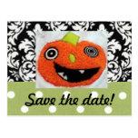 Ahorre las tarjetas de fecha para el boda de Hallo Tarjetas Postales