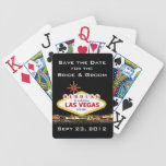 Ahorre las tarjetas del póker de Las Vegas de la f Barajas De Cartas