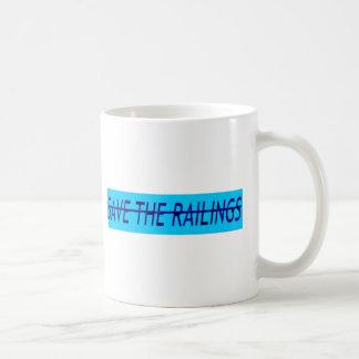 Ahorre las verjas taza clásica