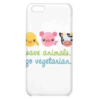 Ahorre los animales van vegetariano