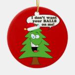 ¡Ahorre los árboles de navidad! Ornamento Para Arbol De Navidad