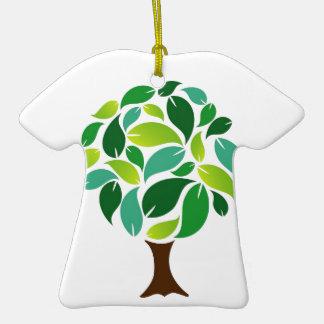 Ahorre los árboles ornaments para arbol de navidad