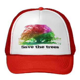 Ahorre los árboles gorros