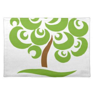 Ahorre los árboles manteles