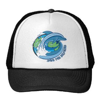 Ahorre los delfínes gorras de camionero