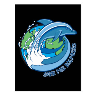 Ahorre los delfínes postales