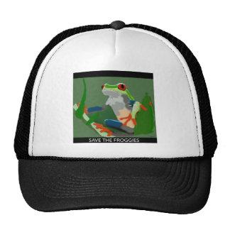 Ahorre los Froggies Gorras