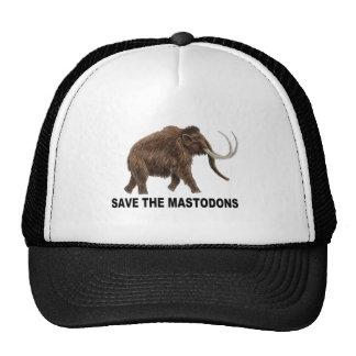 Ahorre los mastodontes gorra