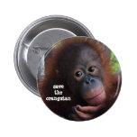 ¡Ahorre los orangutanes! Pin