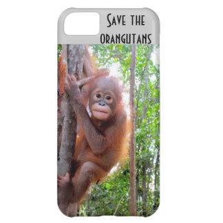 Ahorre los orangutanes Uttuh huérfano Funda Para iPhone 5C