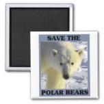 Ahorre los osos polares iman
