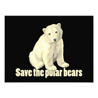 Ahorre los osos polares fotografía