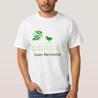 Ahorre los pájaros 2: Verde T de la diversión del Poleras