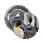 ¡Ahorre los pingüinos! Botón