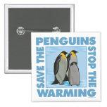 Ahorre los pingüinos pins