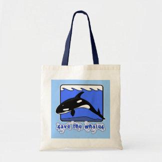 Ahorre los productos de las orcas de las ballenas