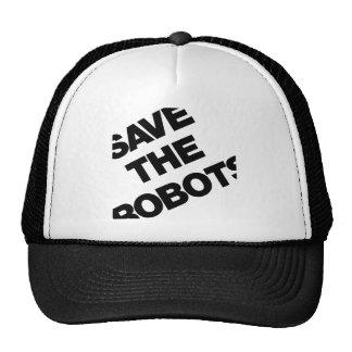 Ahorre los robots después del club NYC de las hora Gorro De Camionero