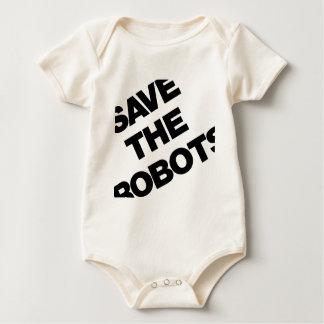 Ahorre los robots después del club NYC de las Mameluco De Bebé
