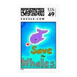 Ahorre los sellos de las ballenas