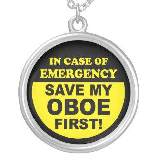 Ahorre mi collar de Oboe